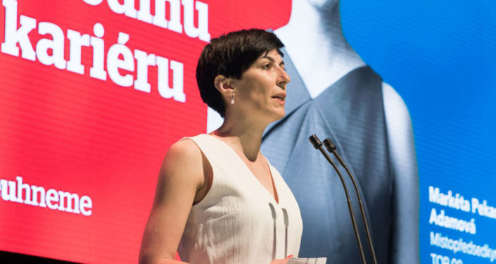 Politička Markéta Adamová.