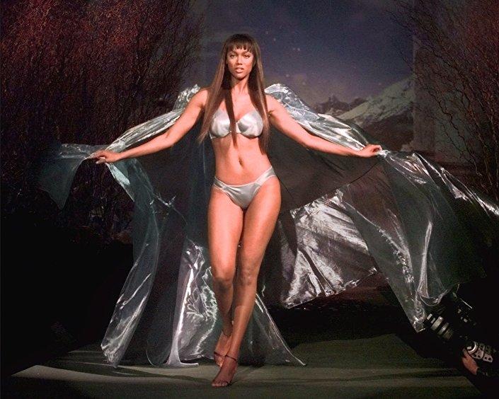 Supermodelka Tyra Banksová, 1999 rok, USA