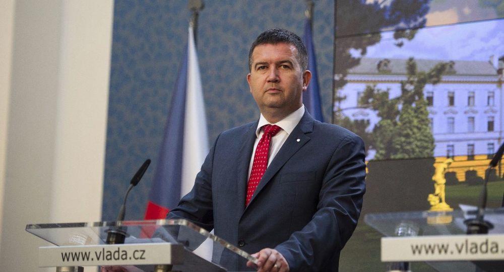 Lídr ČSSD a ministr vnitra Jan Hamáček