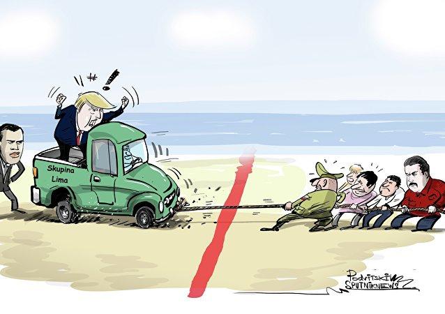 Trumpova přetahovaná