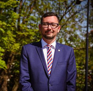 Mluvčí prezidenta České republiky Jiří Ovčáček