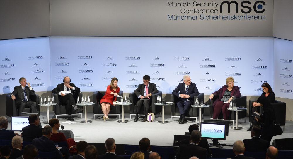 Mnichovská bezpečnostní konference v Německu