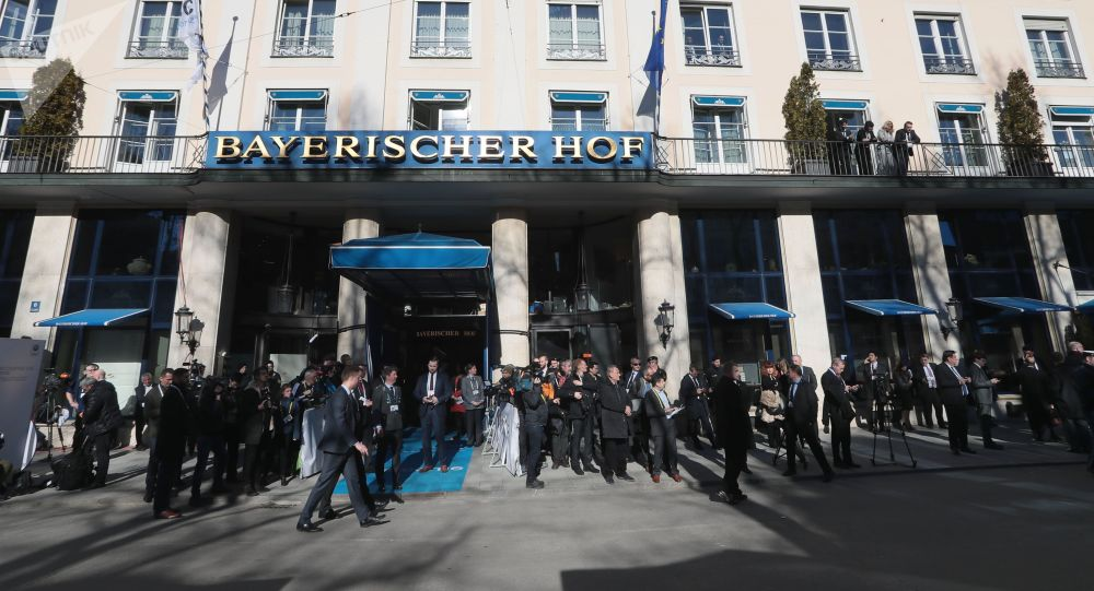 Hotel Bayerischer Hof, kde se konala Mnichovská bezpečnostní konference