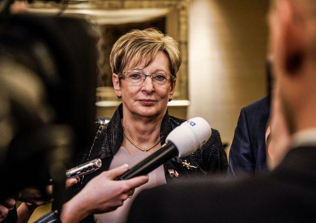 Ministryně průmyslu Marta Nováková