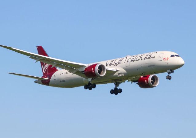 Letadlo Boeing 787-9 Dreamliner společnosti Virgin Atlantic