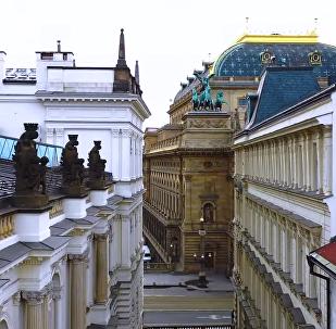 Praha Nejkrásnější Město Dronem