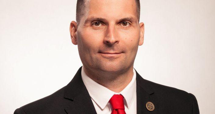 Kandidát na prezidenta Slovenska Róbert Švec
