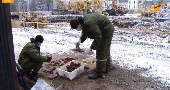 V Bělorusku byly nalezeny pozůstatky asi 600 obětí holocaustu