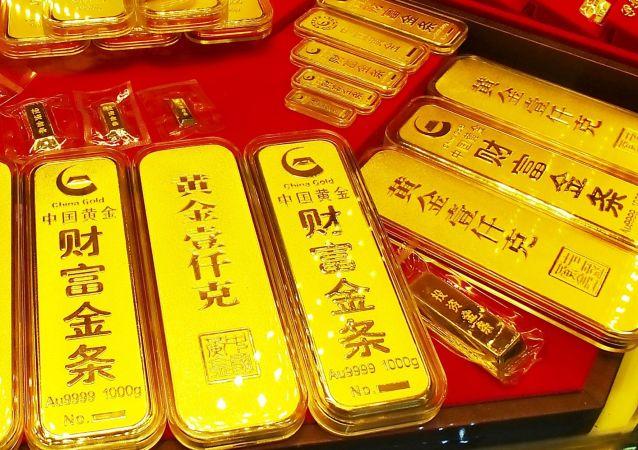Zlato v čínském obchodě