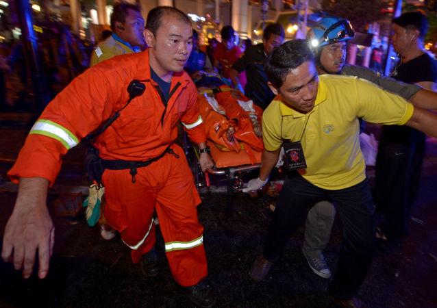 V Bangkoku zahřměl výbuch