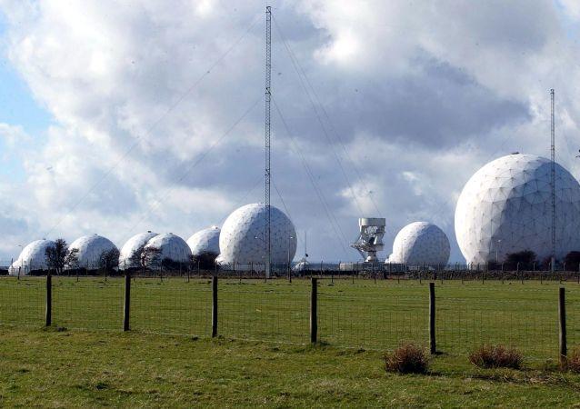 Základna britského královského letectva (RAF) Menwith Hill