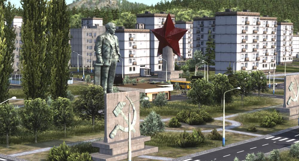 Obrázek ze hry Workers & Resources: Soviet Republic slovenské studie 3DIVISION
