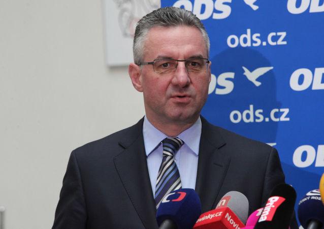 Poslanec Jan Zahradil