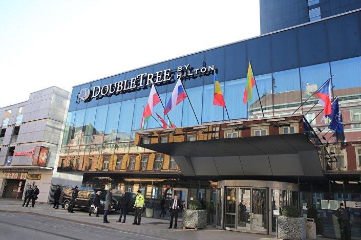 Hotel Doubletree by Hilton, ve kterém se košické jednání konalo