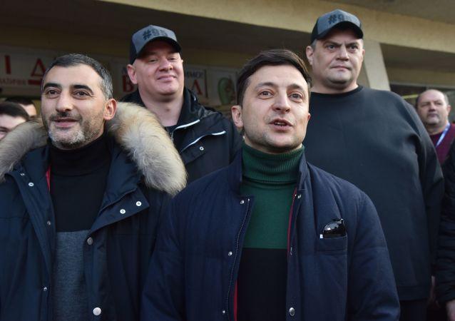 Uchazeč o post ukrajinského prezidenta komik Vladimir Zelenskyj