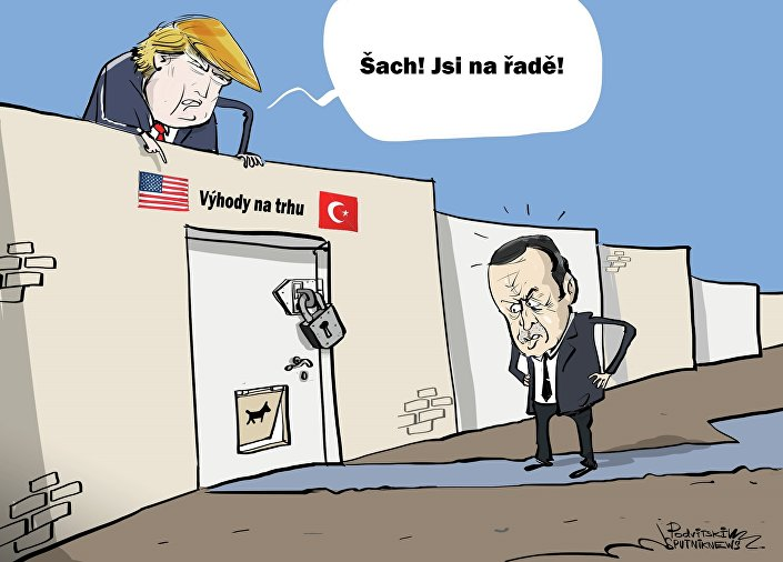 Trump hodlá zbavit Turecko zvýhodněného přístupu na trh USA