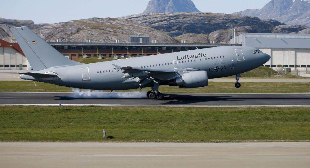 Německé vojenské letadlo Airbus 310