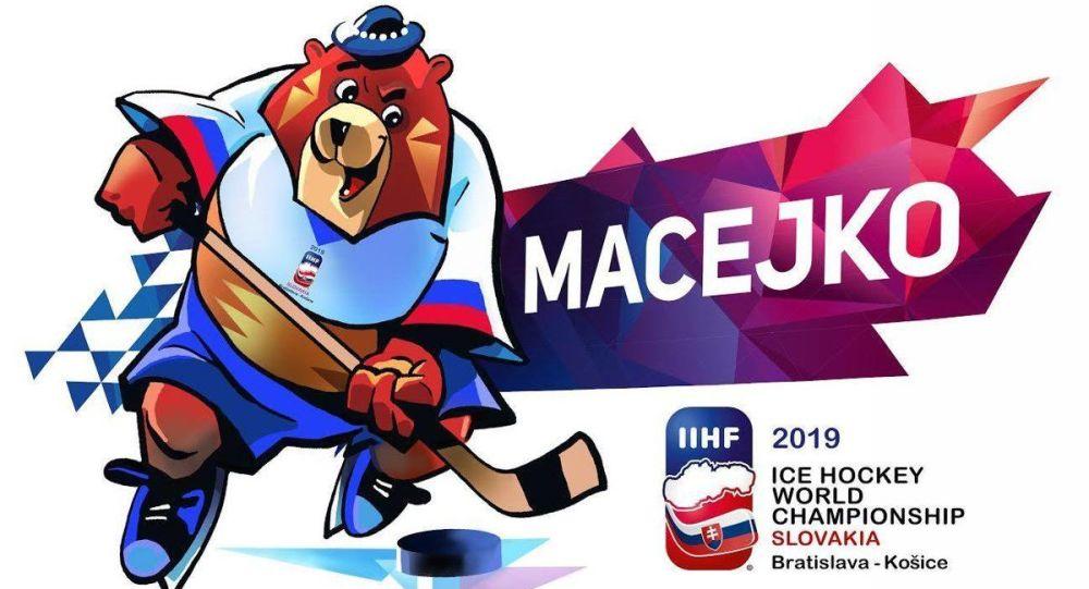 Oficiální maskot MS v hokeji 2019 na Slovensku