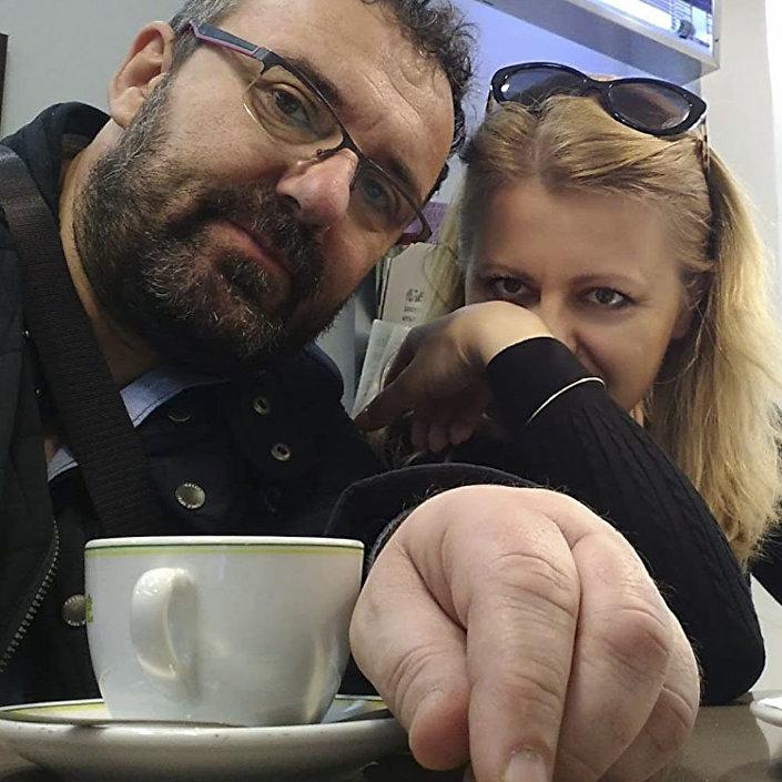 Peter Konečný a Zuzana Čaputová.