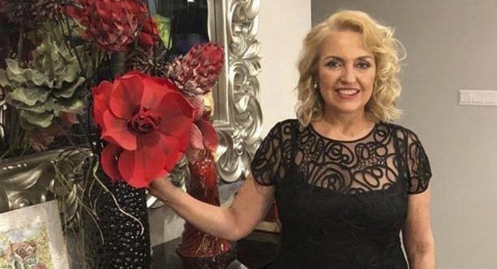 Helena Šefčovičová, manželka slovenského prezidentského kandidáta Maroše Šefčoviče