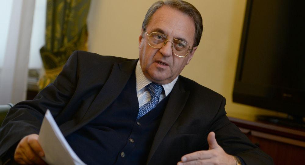 Náměstek ruského ministra zahraničí Michail Bogdanov
