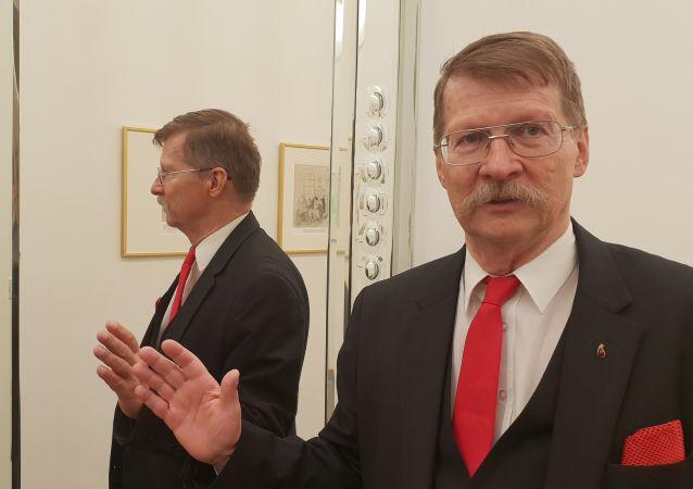 Český europoslanec Jaromír Kohlíček