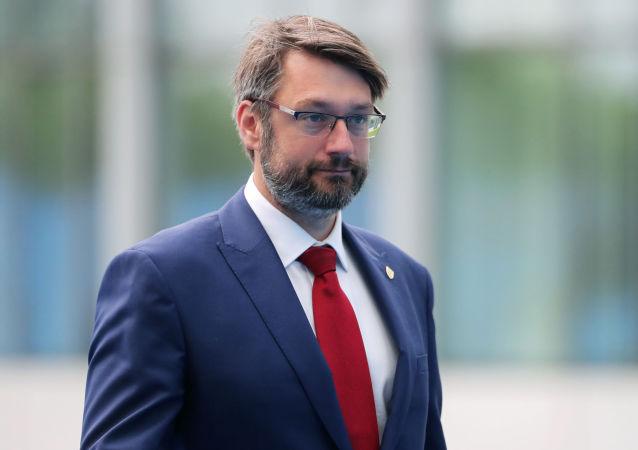 Náměstek ministra obrany Jakub Landovský