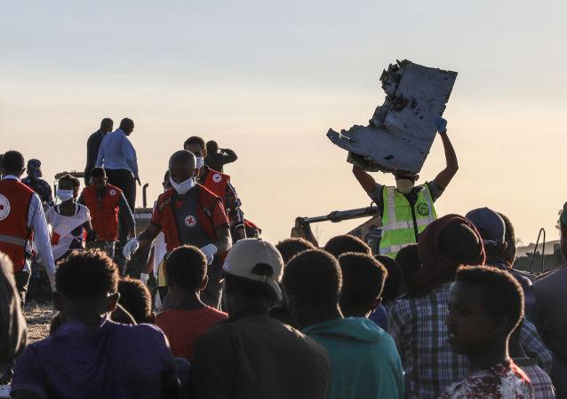 Katastrofa Boeing 737 MAX v Etiopii
