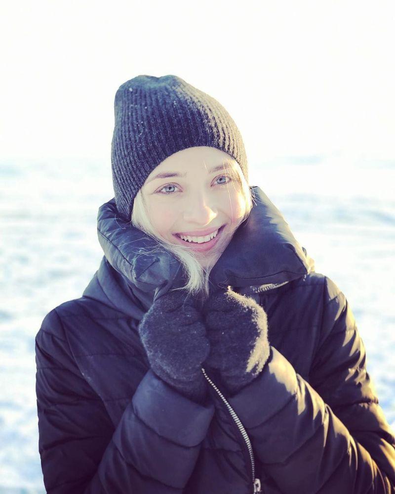 Ruská krasobruslařka Victoria Sinicinová.
