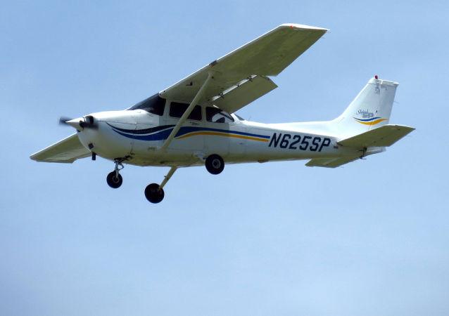 Letadlo Cessna 172. Ilustrační foto