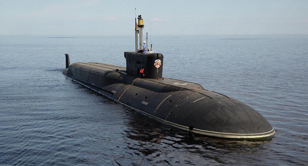 Jaderná ponorka Vladimir Monomach