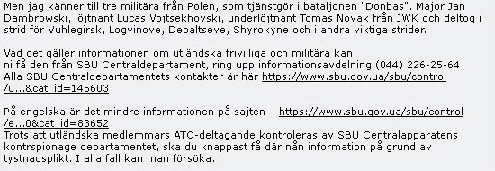 Švédští vojáci: EU a NATO se účastní bojových akcí na Donbasu