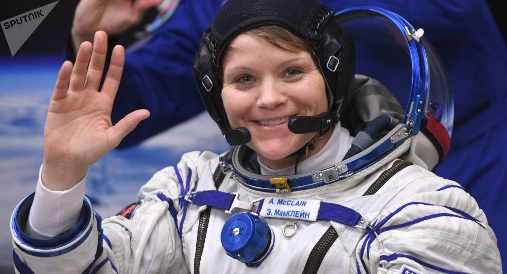 Astronautka Anne McClainová