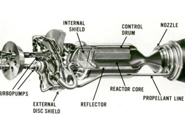 Raketový jaderný motor Nerva