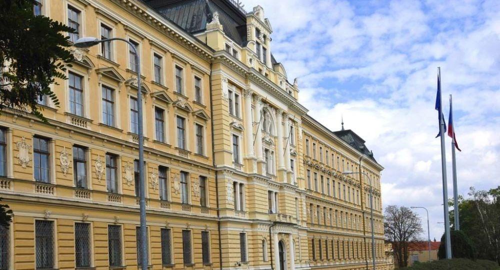 Budova Ministerstva obrany ČR v Praze