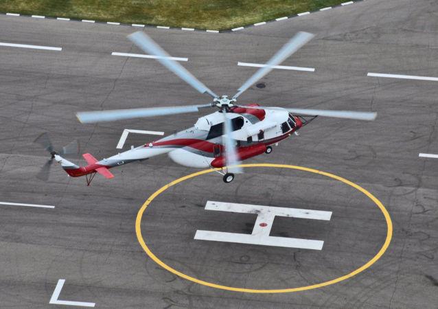 Zkouška vrtulníku Mi-171A2