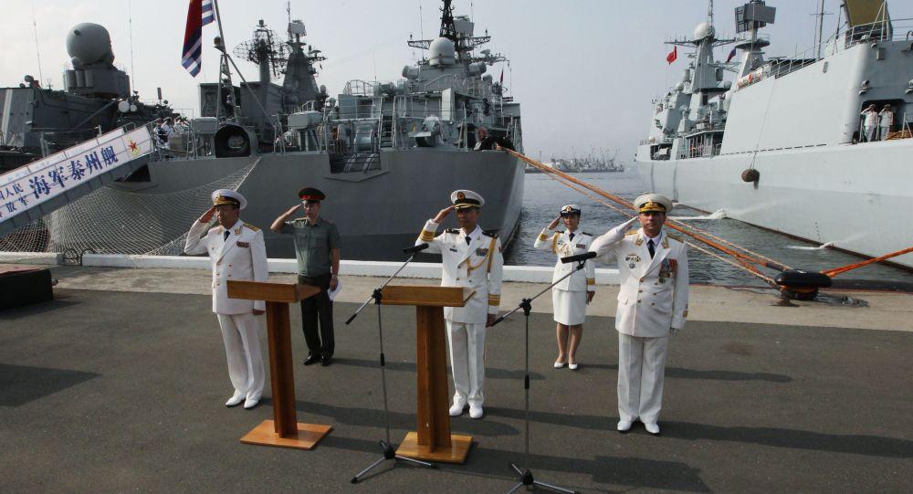 Rusko a Čína zahájily cvičení Námořní součinnost