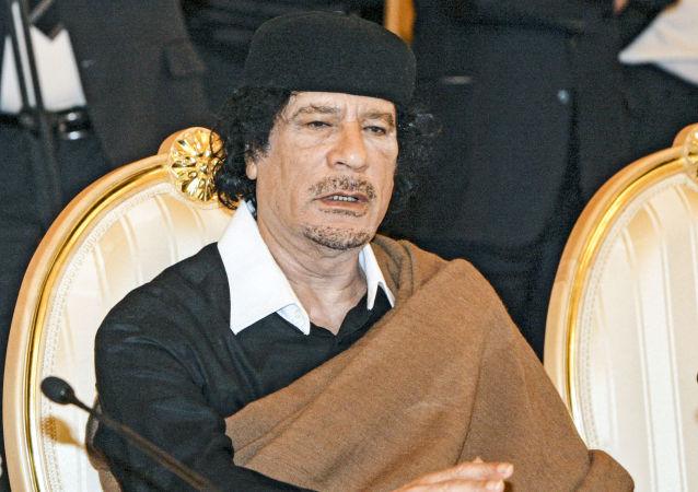 Bývalý libyjský vůdce Muammar Kaddáfí