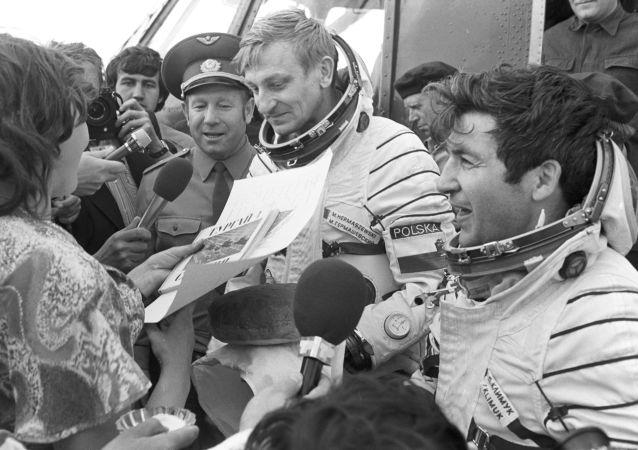 První polský kosmonaut Hermaszewski