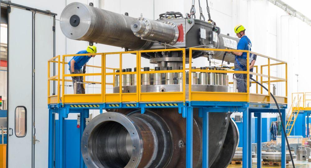 Zařízení pro Nord Stream 2 na závodě PetrolValves v Miláně