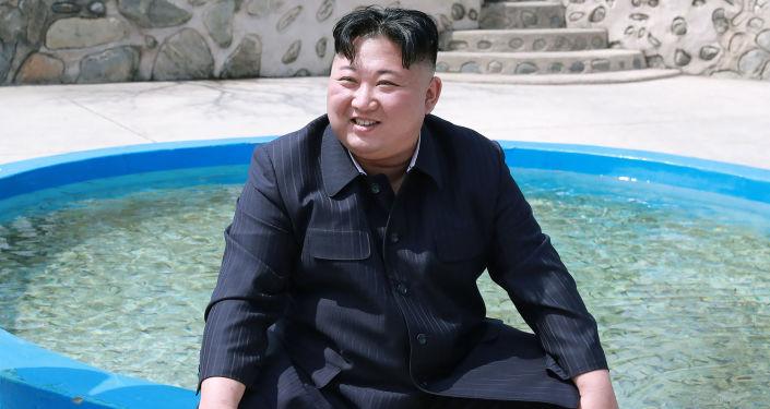 Lídr KLDR Kim Čong-un