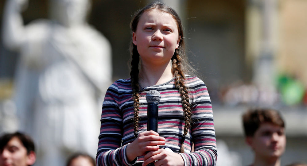 Švédská klimatická aktivistka Gréta Thunbergová