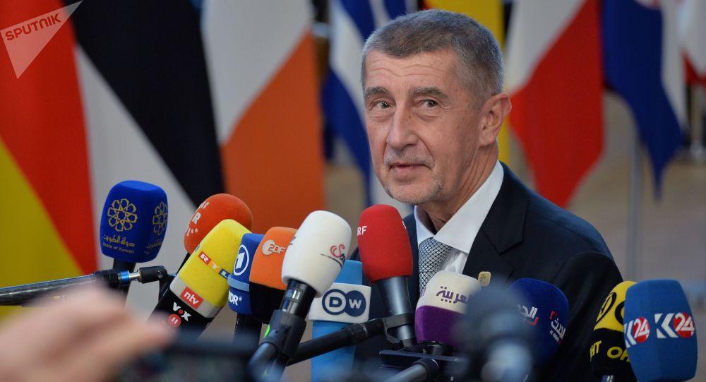 Předseda vlády Andrej Babiš v Bruselu