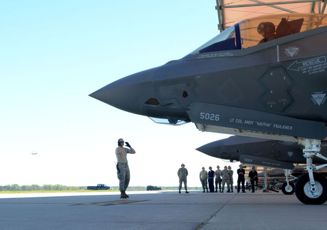 Americký stíhačí letoun F-35A Lightning II