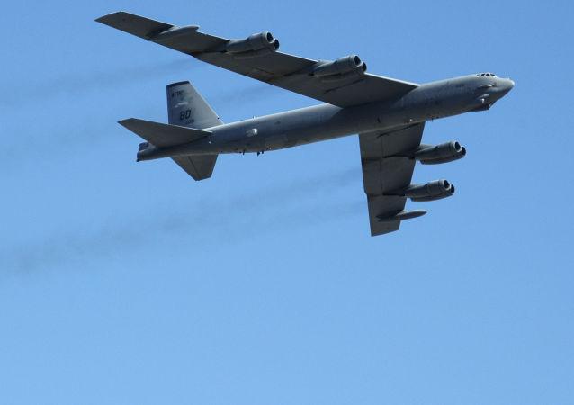 Americký strategický bombardér B-52. Archivní foto