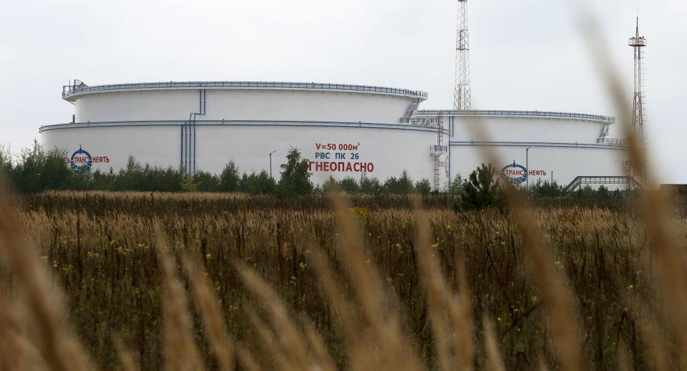 Nádrž pro ropovod Družba v Bělorusku