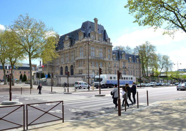 Francouzské město Versailles