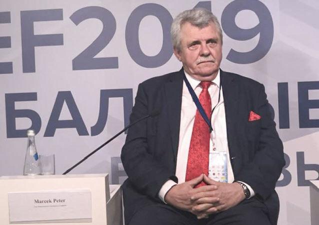 Slovenský poslanec Peter Marček