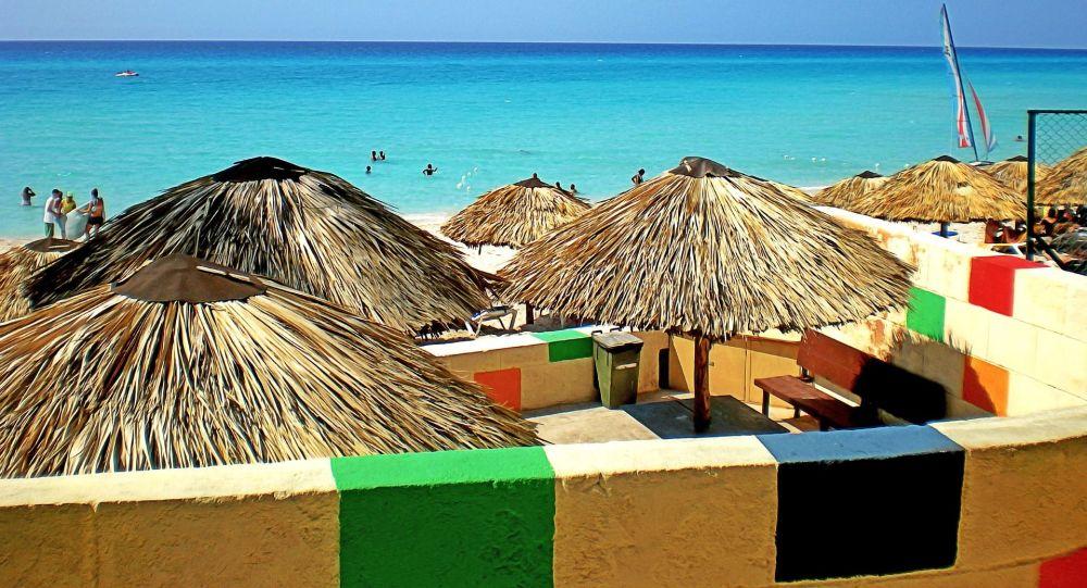 Pláž Varadero na Kubě