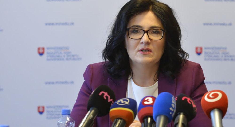 Ministryně školství SR Martina Lubyová